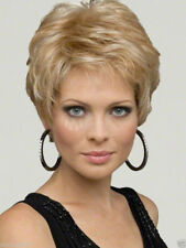 Fashion wig New Charm Women's short Mix Blonde Natural Hair wigs + Free wig cap