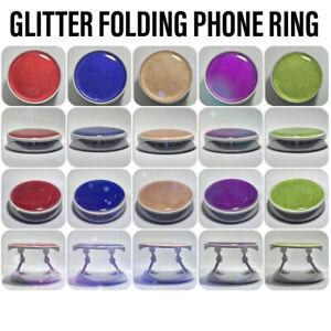NFC Glitter Folding Phone Ring Holder Stand Mobile Finger Ring Socket
