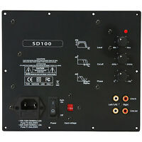 Yung SD100 100W Class D Subwoofer Amp Module No Boost