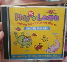 Play & Learn - Under The Sea -  PC GAME - FREE POST