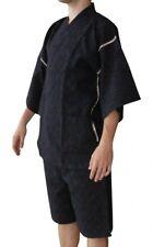 Jinbei noir - vêtement traditionnel Japon - kimono yukata summerwear
