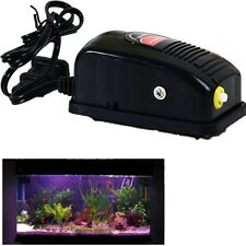 Adjustable Silent Air Pump Tank Energy Efficient Tool for Aquarium Oxygen Fish