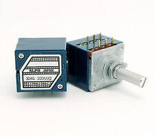 ORIGINAL ALPS RK27 27 Type Dual 100K Potentiometer+Volume potentiometer PCB