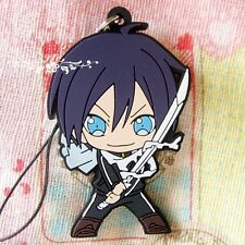 Japanese Anime Noragami Cosplay Yato Cute Detailed PVC Cell Phone Chain Strap