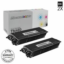 2pk TN460 TN-460 For Brother Toner Cartridge  MFC HL-1440 DCP-1200 TN430 TN-430