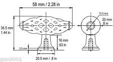 "Satin Nickel  Birdcage Kitchen Cabinet Drawer Knob pull Brushed nickel  2 1/4"""