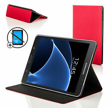 Red Clam Shell Smart Case Cover Samsung Galaxy Tab A 7.0 Screen Prot & Stylus