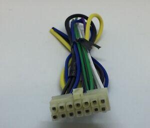 ALPINE MXE F130 14 Pin POWER and Speaker OUTPUT Harness Plug