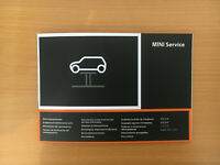 BMW MINI SERVICE BOOK UNUSED NOT DUPLICATE ALL MODELS MULTI LANGUAGE GENUINE