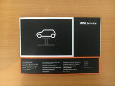 BMW MINI SERVICE BOOK UNUSED NOT DUPLICATE ALL MODELS MULTI LANGUAGE GENUINE
