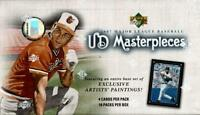 2007 UD Masterpieces Baseball - Pick A Player