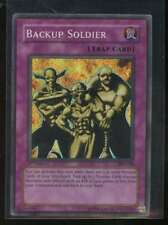 Backup Soldier SUPER RARE Holo Foil 1st Edition PSV-028 Yugioh! Pharaohs Servant