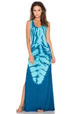 NWT Sky Nozomi Maxi Dress Blue Crochet Back Sexy XS Small