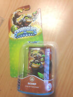 NEW * SKYLANDERS * SWAP FORCE * SCORP * Character Figure * Back Card