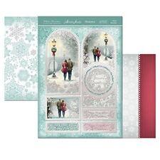 white christmas winter romance topper set