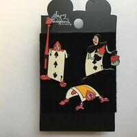 Alice in Wonderland 3 Pin Set - Playing Cards Disney Pin 2321