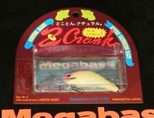 """WOW! Megabass Limited 30th MARCH Anniversary Z CRANK """"HOT PINK DIP PEARL"""""""