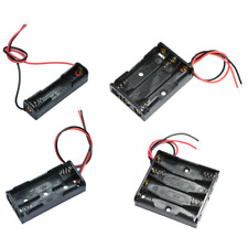 Batteriehalter für 1, 2, 3 oder 4 Mikro AAA Batterien mit Leitung Battery box