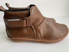 New Unbranded GIRL TODDLER Brown SIZE 35 BOOTS SHOES From Portugal USA Sz 4.5M