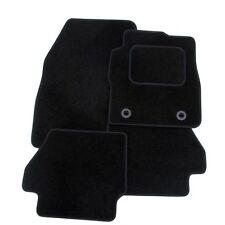 PEUGEOT 307 2001-2008 TAILORED CAR FLOOR MATS BLACK CARPET WITH BLACK TRIM