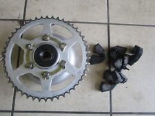 A.Hyosung GV 250 Aquila chain wheel mount + Shock Damper