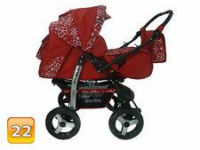 Kombi Kinderwagen 3in1 Poussette Sportsitz Autositz Babyschale Sportwagen Buggy