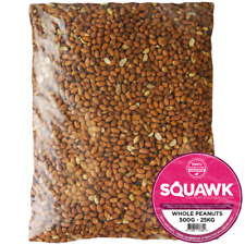 More details for squawk whole peanuts - fresh premium wild garden bird seed food nut energy feed