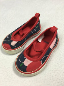 Gymboree Prep School Toddler 3 Navy Blue Red Pink Apple Shoes Mary Janes