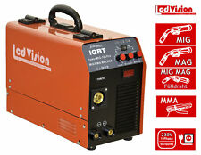 MIG MAG Schweissgerät Power MIG MAG 180 PRO + Stick MMA IGBT Inverter Schutzgas