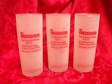 3 The Firecracker Frosted  Glass
