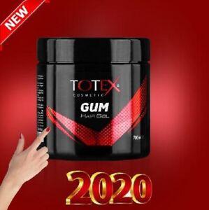 Totex Hair Styling Gel 700 ml Gummy Gumgel Super Hold Barber Shop By TOTEXUK