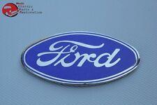 28-30 Ford Model A Radiator Shell Oval Self Adhesive Emblem Hot Rat Rod New
