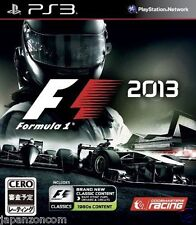 Used PS3  F1 2013  SONY PLAYSTATION 3 JAPAN JAPANESE IMPORT