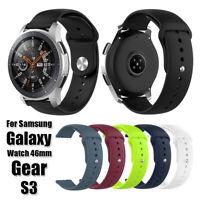 Correa de reloj de silicona para Samsung Gear S3 Galaxy Watch Huami Amazfit GTR