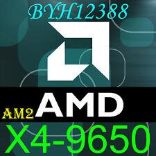 AMD Phenom X4 9650 Socket AM2 AM2+ HD9650WCJ4BGH 2.3GHz working!