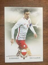 2016 Unique Futera Soccer Card - Poland LEWANDOWSKI Mint