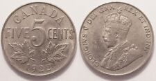 Canada, George V, 5 Cents 1922 !!