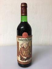Umberto Fiore Gattinara Vino Spanna 1974 Piemonte 72cl 12,2% Vol Vintage