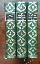 Lettres de Napoléon à Marie-Louise & Josephine Jean de Bonnot - (1968 & 1970)