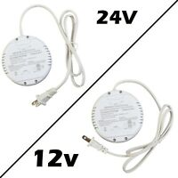 Dimmable LED Driver, 12v 24v 60w 2.5A 5A Power Supply for LED Strip Puck Module