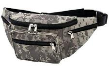 ExtremePak Waist Bag Digital Camo Water Repellent Fanny Pack Camouflage