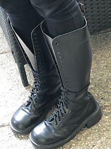 Doc martens air Wear Boots Stiefel 20 Loch Damen gr. 38 Leder Echtleder