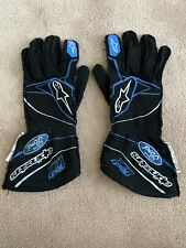 Nascar Race worn Race used Bubba Wallace Autographed Alpinestars