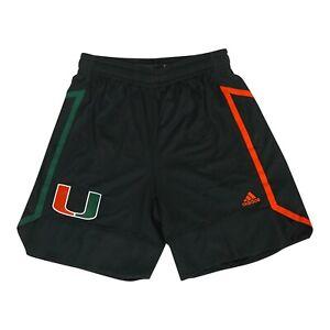 Miami Hurricanes NCAA Adidas Women's Black Team Shorts