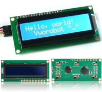 1 PC New Blue IIC I2C TWI 1602 16x2 Serial LCD Display Modules For Arduino Hot