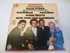"36692 Isaac Stern 60th Anniversary From Lincoln Center 12"" Vinyl LP 1981"