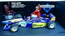 F1 Jean Alesi taxi M. Schumacher Benetton B195 1/18 Minichamps Nr 181952701