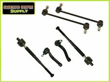 Combo Tie Rods Inner Outer & Sway Bar Link Set for Sentra 07-12 6PCS