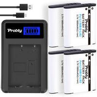 Li-50B Battery + Charger for OLYMPUS Stylus Tough 1030 SW Tough 6000 Tough 8000