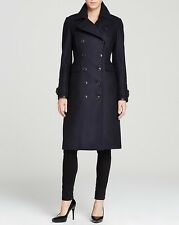 Burberry Brit Rackleigh Wool TrenchCoat Jacket Sizes 08 (EU42)